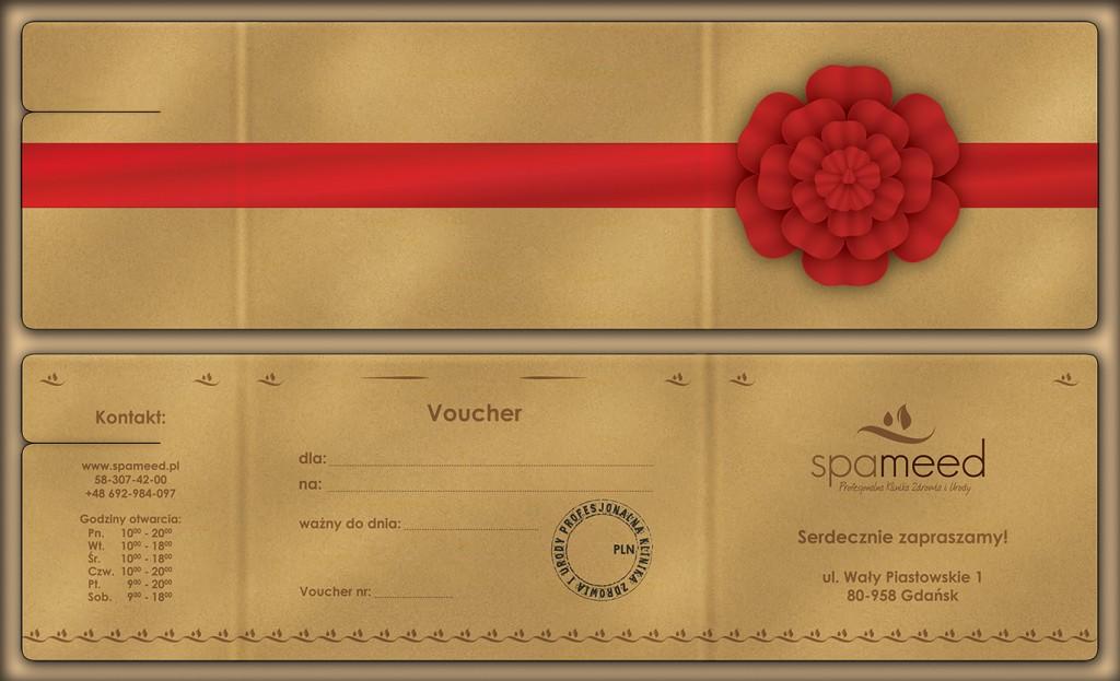 Bony prezentowe - voucher podarunkowy Spameed