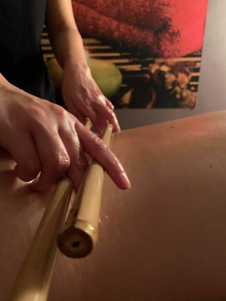 Masaż pałeczkami bambusowymi Gdańsk
