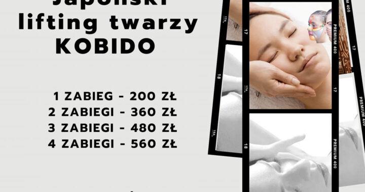 JAPOŃSKI LIFTING TWARZY KOBIDO